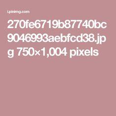 270fe6719b87740bc9046993aebfcd38.jpg 750×1,004 pixels