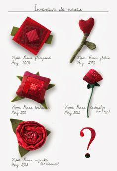Inventari de Roses de Sant Jordi Origami, Sewing, Unique, Dates, Handmade, Scrappy Quilts, Animals, Tela, Amor