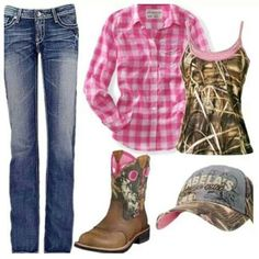 I love camo and pink!!! Especially together