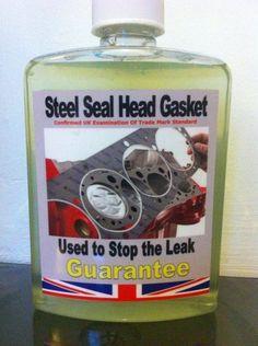 Steel Seal Head Gasket Repairs Blown Head Gasket &Cracked All Block Leaks.500ML