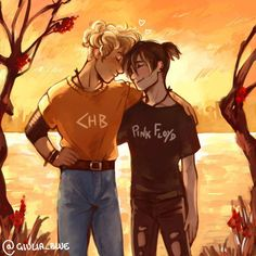 Your source for everything solangelo. *we don't write or draw anything posted here* header icon Percy Jackson Fandom, Percy Jackson Ships, Percy Jackson Characters, Percy Jackson Fan Art, Percy Jackson Books, Percabeth, Solangelo Fanart, Magnus Chase, Will Solace