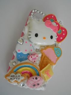 Decoden Hello Kitty iPhone 4/4s Case  Ready to by SweetsForASweet, $35.00
