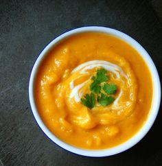 Creamy Butternut Squash Soup with Smoked Paprika