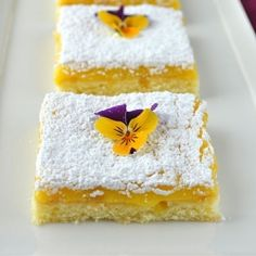 Meyer #Lemon #Bars