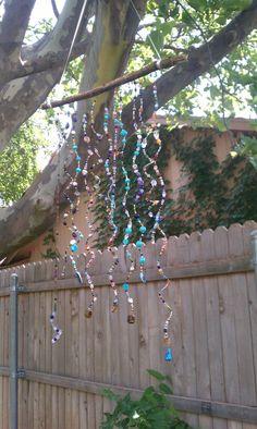 Bead yard art