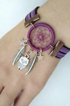 Dream Catcher Bracelet, Dream Catcher Jewelry, Dream Catcher Decor, Beaded Jewelry, Handmade Jewelry, Beaded Bracelets, Beautiful Dream Catchers, Fantasy Jewelry, Jewelry Crafts