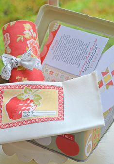 Fig Tree Frivols with custom label and all kinds of goodies. #showmethemoda