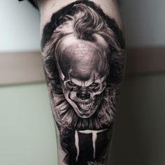 Pennywise clown by Ralf Nonnweiler