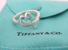 Vintage Tiffany & Co. Sterling Silver Paloma by wandajewelry2013