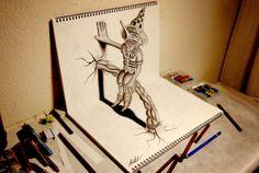 Coup de coeur - Ces dessins que l'on voit en 3D ~ Grenadine Acidulée - le blog lifestyle à Lyon