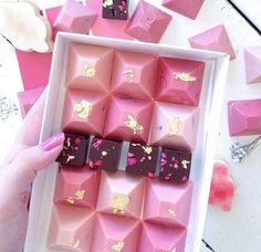 Adorable little chocolates from nectar & stone Australia