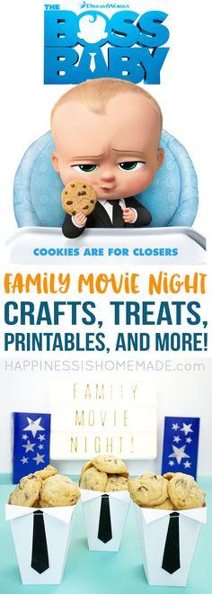 Family Movie Night Fun: The Boss Baby – Happiness is Homemade