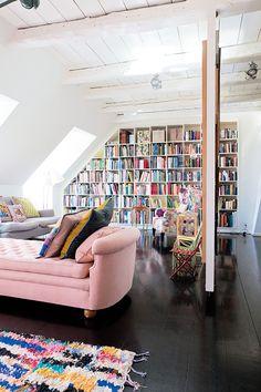 Tina e seu colorido apartamento em Copenhaque | Casa-Atelier Blog & Shop