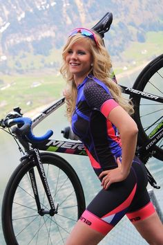 Denise is in the Sexy Cycling Calendar Swiss 2016!!