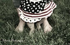 Cute outdoor kids 4th of July photoshoot - Scherer Photography