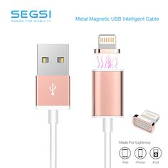 Original 2A Magnetic Charger Cable usb Adapter For iPhone 5S 5C 6 6S Plus iPad 4 5 Air Mini 3 iPod 5 Magnet Charging Sync Digital Guru Shop