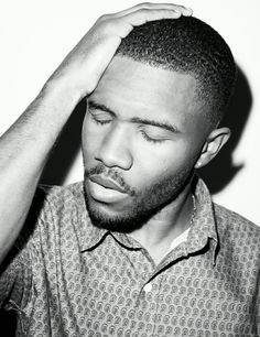Frank Ocean, haven't stopped listening to his stuff since February. Little bit in love with him.....