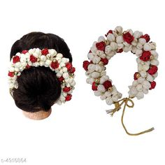 Hair Accessories Flower Gajra Hair Accessories for Women  Material: Fabric Multipack: 1 Sizes:  Free Size Country of Origin: India Sizes Available: Free Size   Catalog Rating: ★3.9 (2984)  Catalog Name: Twinkling Graceful Women Hair Accessories Vol 1 CatalogID_719412 C72-SC1088 Code: 871-4916864-