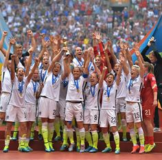 2015 World Cup champions! #USWNT