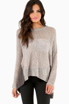 2Shadez Knit Sweater