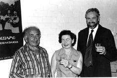 141. David Worobin (left) and Rachel Valler (centre)