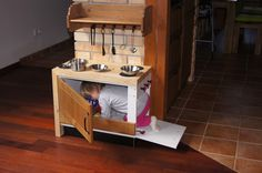 small kinder kitchen of the Ikea rest parts