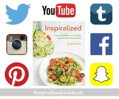 The Inspiralized Cookbook - Win prizes on social media!