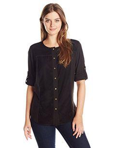 e2cea4db 46 Best Calvin Klein Blouses & Button-Down Shirts For Women images ...