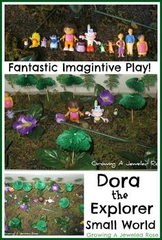 Dora the Explorer Small World ~ Growing A Jeweled Rose