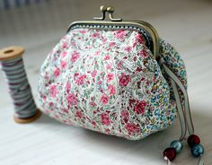 Liberty Frame Purse by listen to the birds sing, via Flickr
