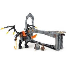 Instructions Parts List Only for Custom Lego Lord of The Rings Balrog Battle for sale online Fellowship Of The Ring, Lord Of The Rings, You Shall Not Pass, Lego Knights, Lego Display, Balrog, Everything Is Awesome, Custom Lego, Cool Lego