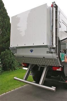 Overland Truck, Expedition Vehicle, Travel Trailer Tires, Camper Equipment, Truck Camper Shells, Mercedes Benz Unimog, Adventure Campers, Off Road, Camping Survival