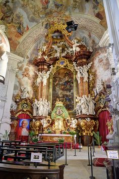 Basilica of the Assumption of the Blessed Virgin Mary in Krzeszów, Poland | Flickr - Photo Sharing!