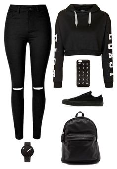 """Untitled #2344"" by twerkinonmaz ❤ liked on Polyvore featuring Topshop, Converse, J.Crew and Rosendahl"