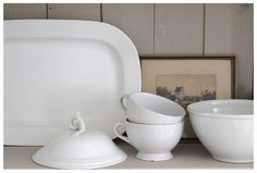 white pottery, by aimeeaxel, via Flickr