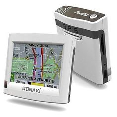 Konaki KOGPS1 GPS with 35Inch TFT Touch Screen  AV player -- More info could be found at the image url.(This is an Amazon affiliate link)