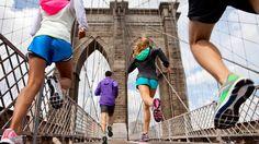 Love running the Brooklyn Bridge!!! #nike