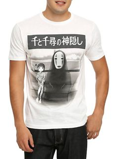 15 Perfect Studio Ghibli Gift Ideas for Boys: An Official Studio Ghibli Spirited Away Train Scene T-Shirt