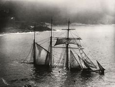 The Gibsons of Scilly. 'The Mildred' 1912