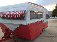 1967 Vintage Travel Trailer Red and White Aristocrat camper Link to Other Ad   eBay