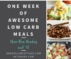 One Week of Low Carb