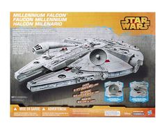 Star Wars Rebels Millennium Falcon Vehicle Kids Collectible Toy Action Figure