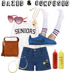 A fashion look from August 2012 featuring American Apparel socks, Oasis shorts e NIKE shoes. Browse and shop related looks.