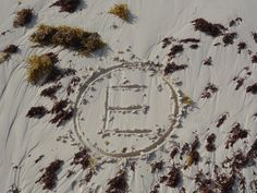 The letter in the sand