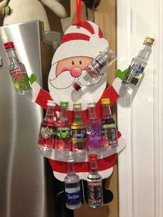 Drunken Santa for a Yankee swap gift @abarry44