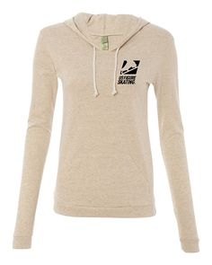 Ladies Eco-Jersey Classic Hooded Pullover T-Shirt