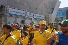 Brazil Match Day!  #Brazil #RioDeJaneiro #RJ Brasil #CBF #SaoPaulo #VivaBrasil #Brasileiro #Carioca #Paulista
