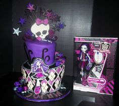 Monster High Party Decorations | Monster High Cakes For Birthdays