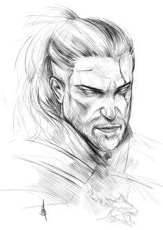 Geralt of Rivia by muratgul.deviantart.com on @DeviantArt
