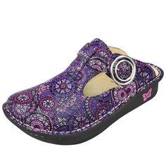 Classic Spiro Purple Clog #classic #alegrias